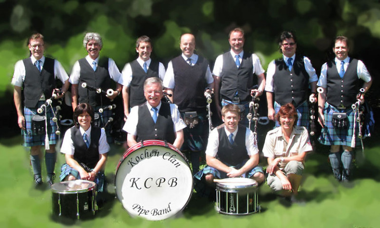 Kochen Clan Pipe Band - Gruppe